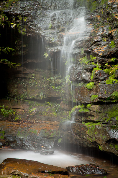 Dantes Glen waterfall