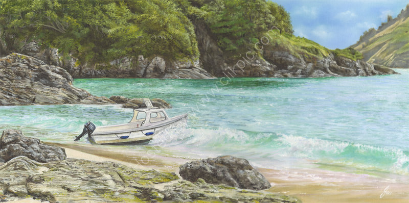 Beached on Sunny Cove