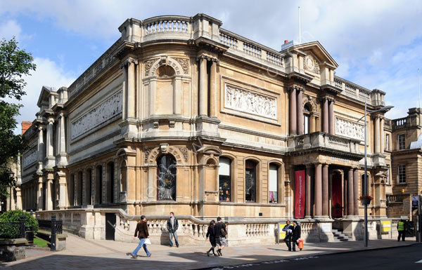 Wolverhampton Art Gallery in Lichfield Street.