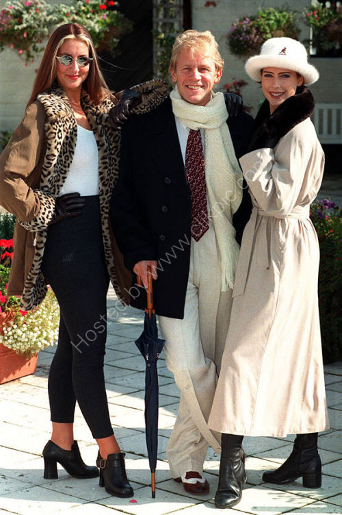 Actor Paul Nicholas posed for a fashion shoot when he was at the Grand theatre in Wolverhampton.