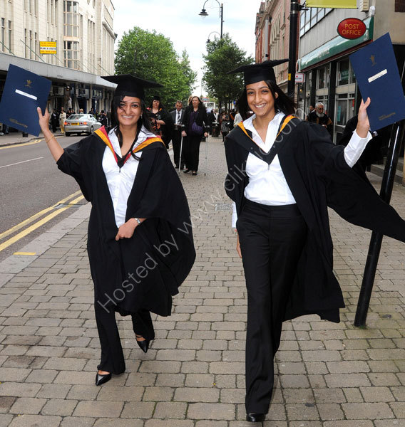 University of Wolverhampton 2008 Graduation week.