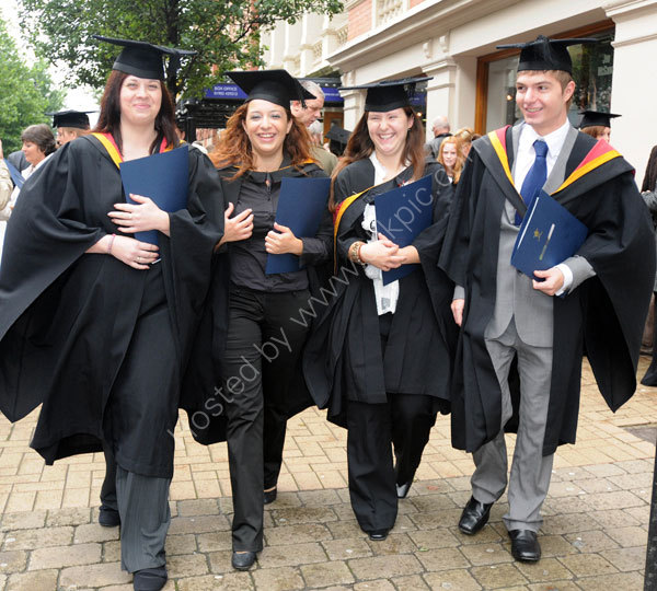 University of Wolverhampton 2008 Graduation week.
