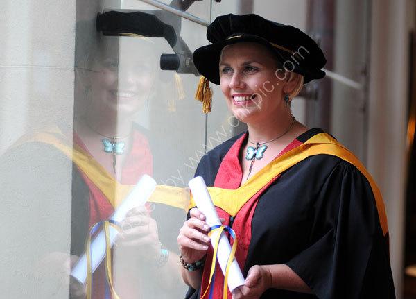 University of Wolverhampton 2008 Graduation week.Lisa Potts Hon graduation