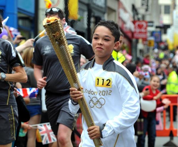 Olympic Torch Wolverhampton2 2012