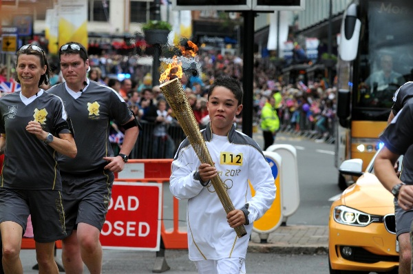 Olympic Torch Wolverhampton 2012