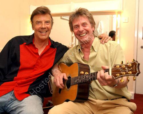 Marty Wilde and Joe Brown in Wolverhampton.