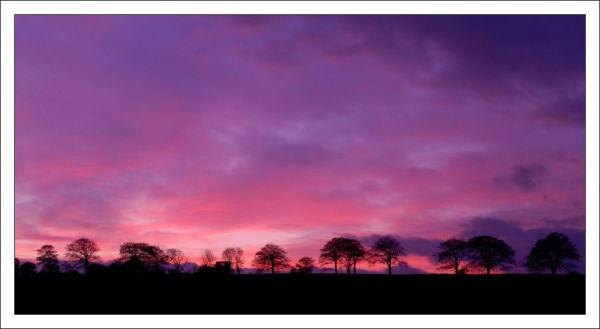 Sunset at Bretton