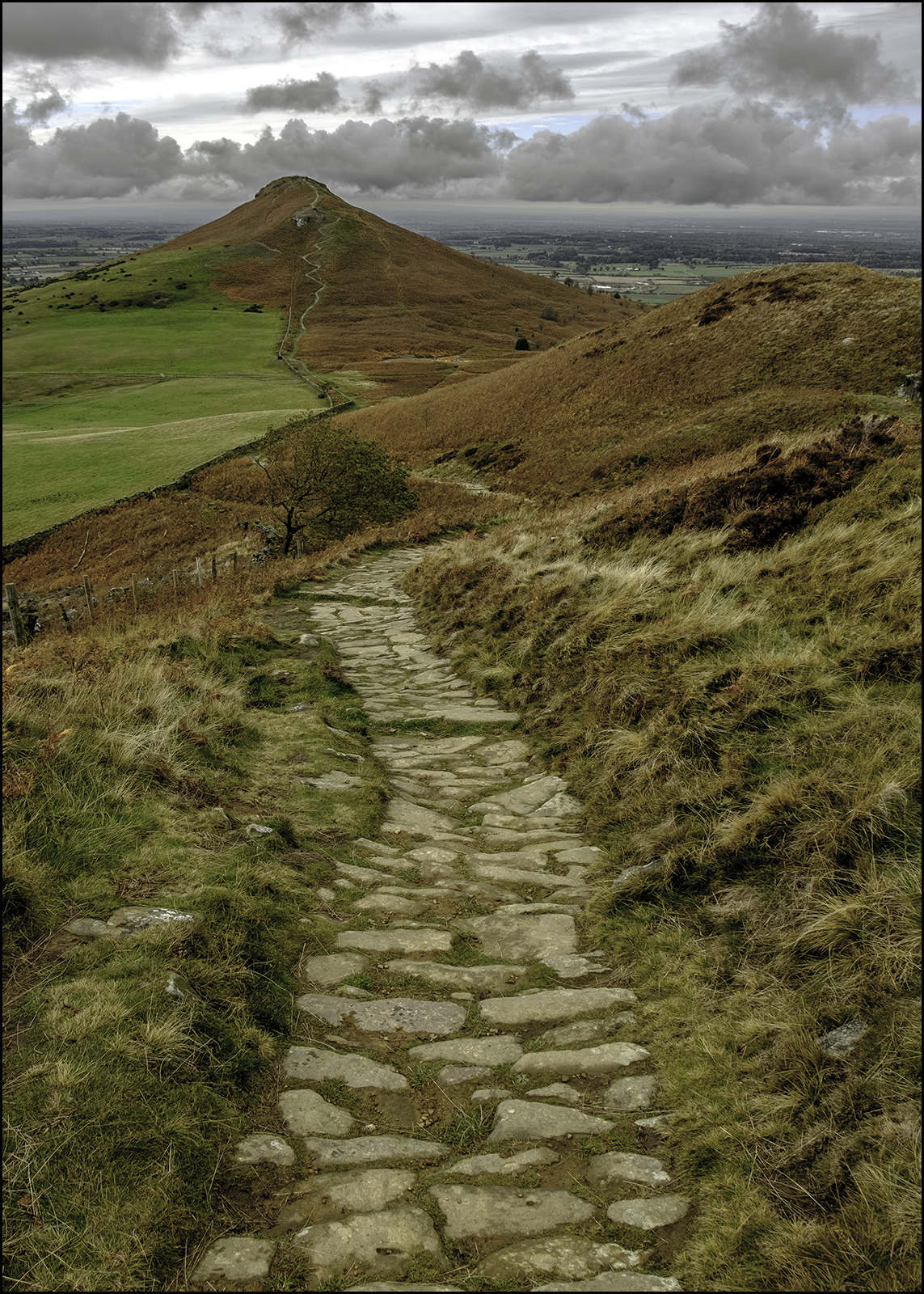 Footpath to the top