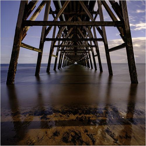 Under Steeley Pier
