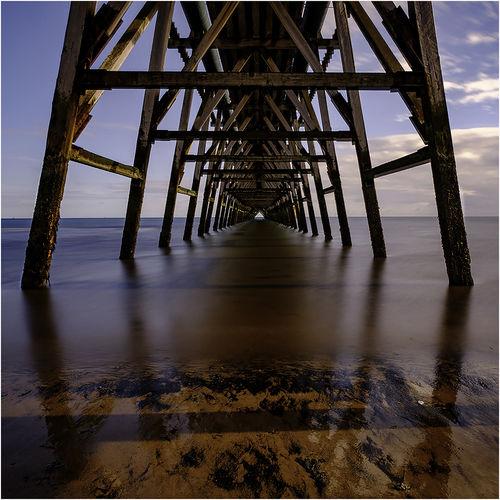 Under Steely Pier