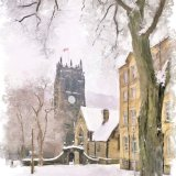 Winter's day, Halifax Minster