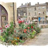 Flowerbed by the canal - 2013 calendar