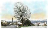Wainhouse Tower from Warley Road, Halifax