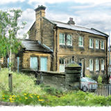 the old Goods Office of 1840, Sowerby Bridge - 2011 calendar