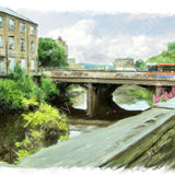 County Bridge, Sowerby Bridge - 2011 calendar