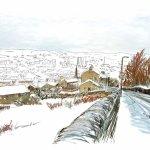 winter Halifax from Southowram