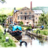 On the canal, Hebden Bridge
