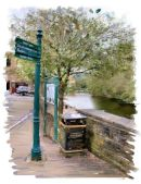 By the canal, Todmorden