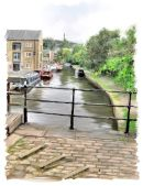 canal at Sowerby Bridge -2013 Calderdale calendar