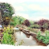 Autumn on the canal, Hebden Bridge - 2013 calendar