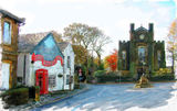 Warley Village  Halifax -  2010 calendar - December