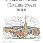 Piece Hall a4 calendar 2018