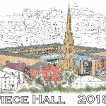 Piece Hall Desktop Calendar 2018
