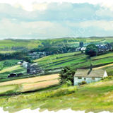 Looking towards Sowerby  --  2010 calendar