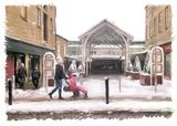 Westgate from the Borough Market, Halifax - 2014 calendar