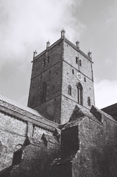 St Davids Cathedral, Pembrokeshire, West Wales.