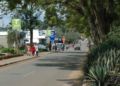 In Malawi, most people walk!