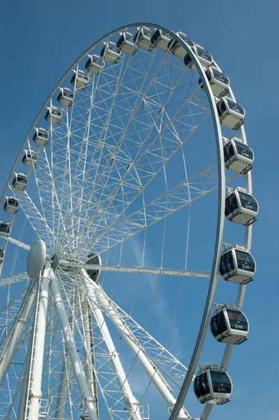 No - NOT the London Eye... this is in Dublin!