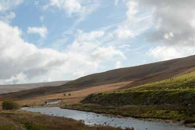 The River Claerwen