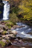 Waterfall at Blaen y Glyn