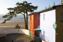 Portmeirion - Bridge house with the Dwyryd estuary beyond.