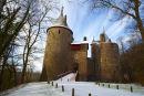 Castell Coch, winter