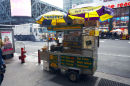 Hot Dog vendor, New York