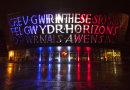 Millennium Centre lit up for Paris November 2015