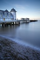 Penarth Pier, dusk