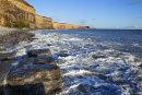 St Donats, high tide