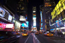 Times Square, NYC, night time