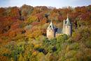 Castell Coch, autumn.