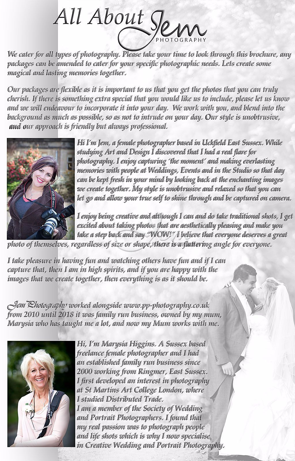 Page 2, Uckfield Wedding Portrait Property Photography East Sussex Design