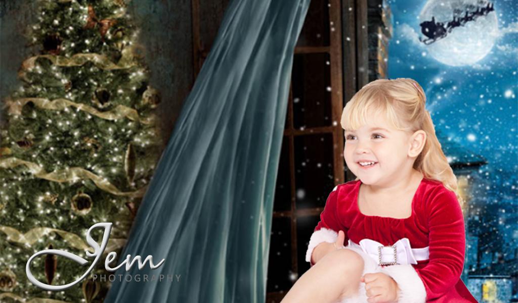 Christmas Childs Portrait