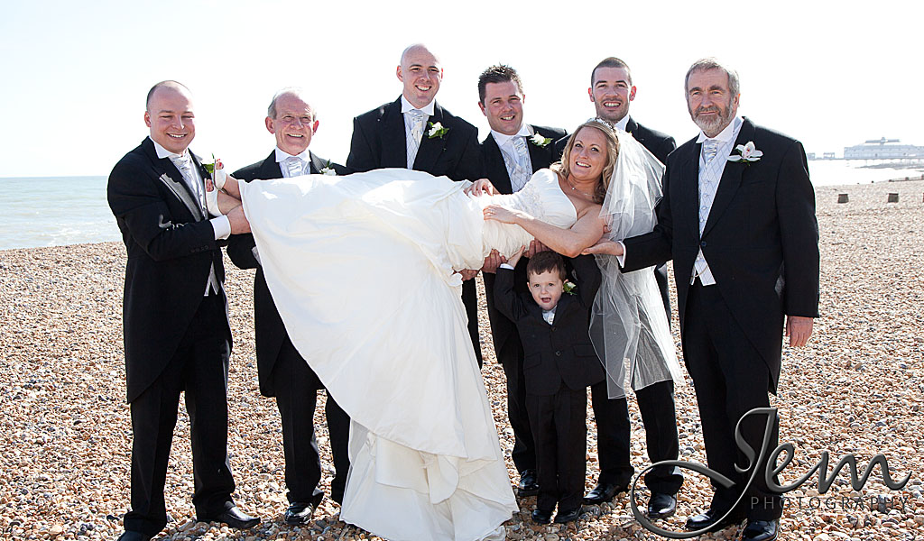 Eastbourne Seafront Wedding Photographers