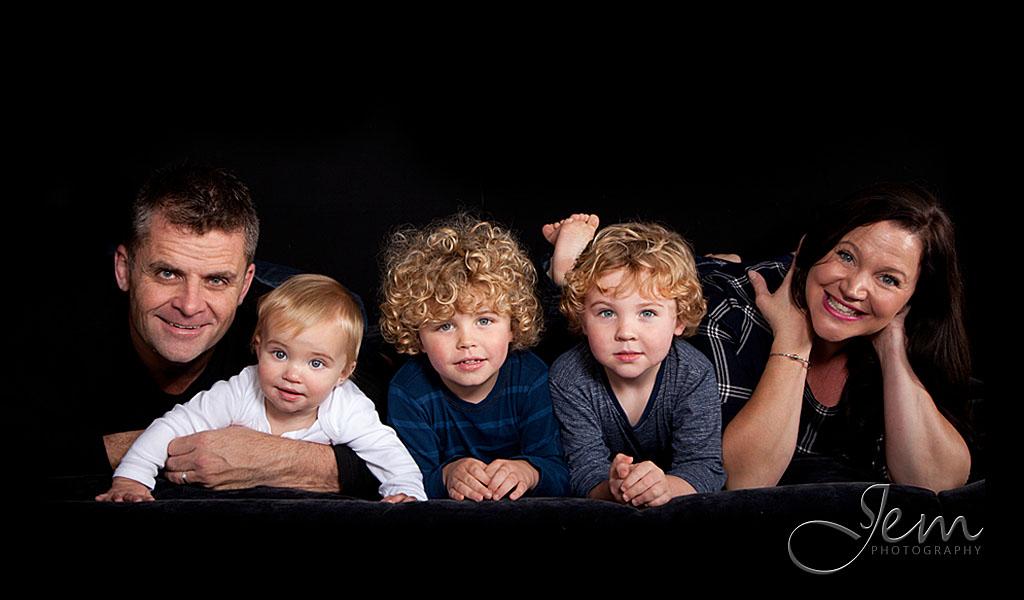 Family Studio Photo Shoot