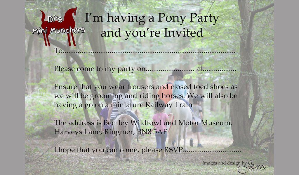 Invitations Designed