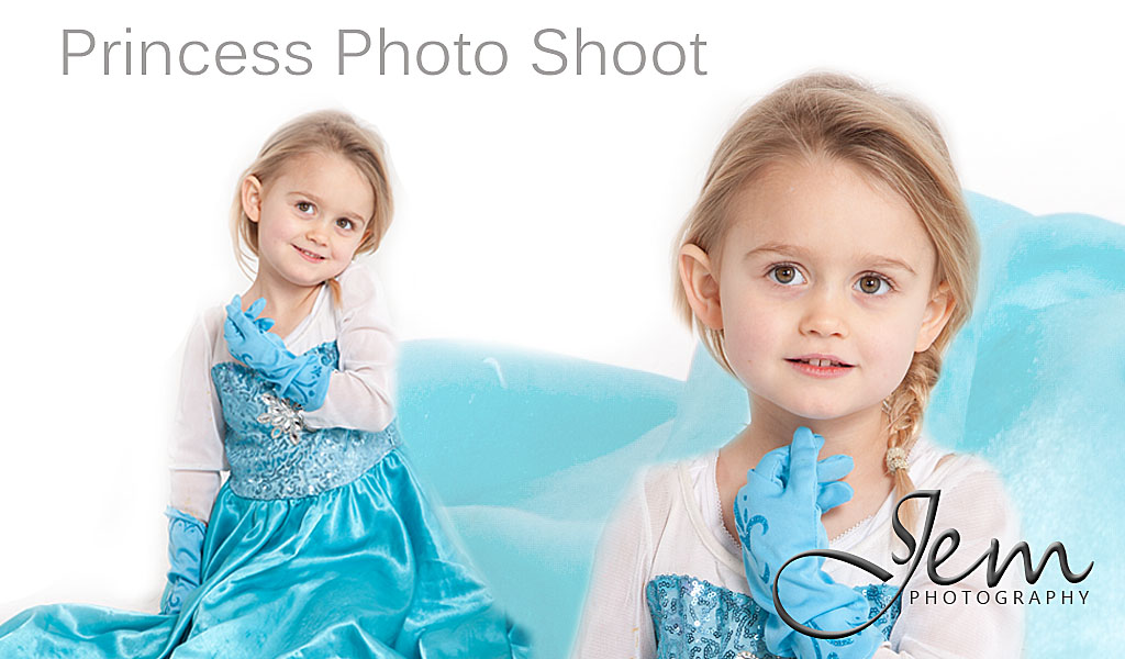 Princess Studio Photo Shoot