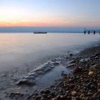 Alum Bay at Dusk II