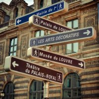 Parisian Street Signs
